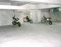 松屋公寓修学院停车场